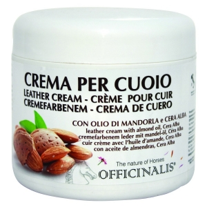 Officinalis Leather Cream made with almond oil