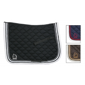 Tattini Underseat Dressage cotton quilt brown color
