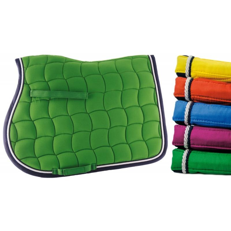 Lami-cell sottosella in cotone sagomato collezione Mirage colore Verde